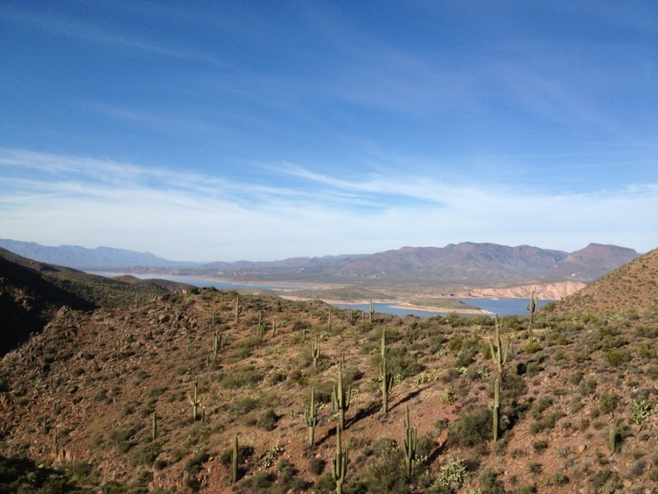 Roosevelt Lake to Roger's Trough
